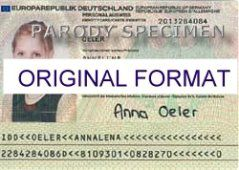 EUROPEAN DRIVER LICENSE ORIGINAL FORMAT, DESIGN SPECIFICATIONS, NOVELTY SECURITY CARD PROFILES, IDENTITY, NEW SOFTWARE ID SOFTWARE EUROPEAN driver
