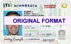 minnesota drivers license scannable with hologram fake id cards