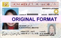 NEW MEXICO DRIVER LICENSE ORIGINAL FORMAT, DESIGN SPECIFICATIONS, NOVELTY SECURITY CARD PROFILES, IDENTITY, NEW SOFTWARE ID SOFTWARE NEW MEXICO driver