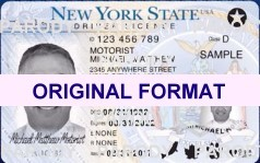 buy new york fake id scannable with real holograms